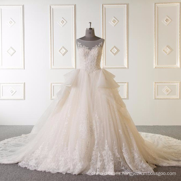 Sleeveless bal gown wedding dress 2017 Vestidos de novia 2017