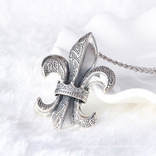 Vintage style brand Hearts 925 sterling thai silver pendant necklace men jewelry