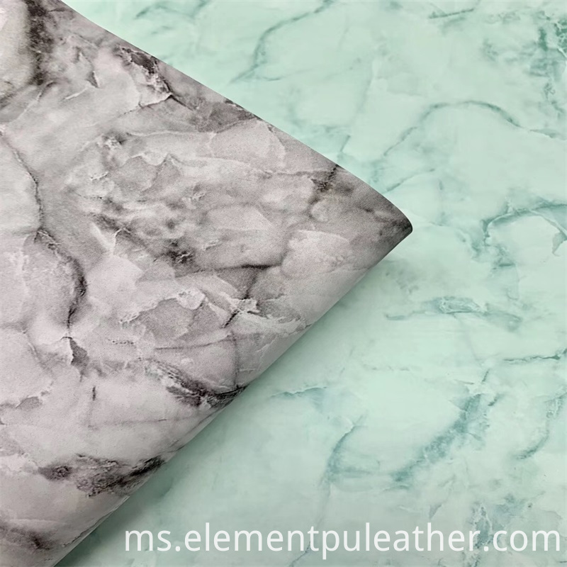Marbling Pvc Leather for Package