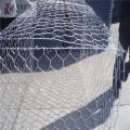 clôture de maille de gabion de fil de fer galvanisé à chaud