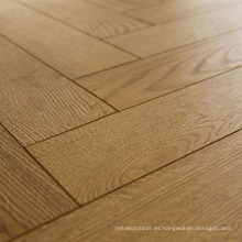 Pisos de madera de espiga de roble de madera maciza