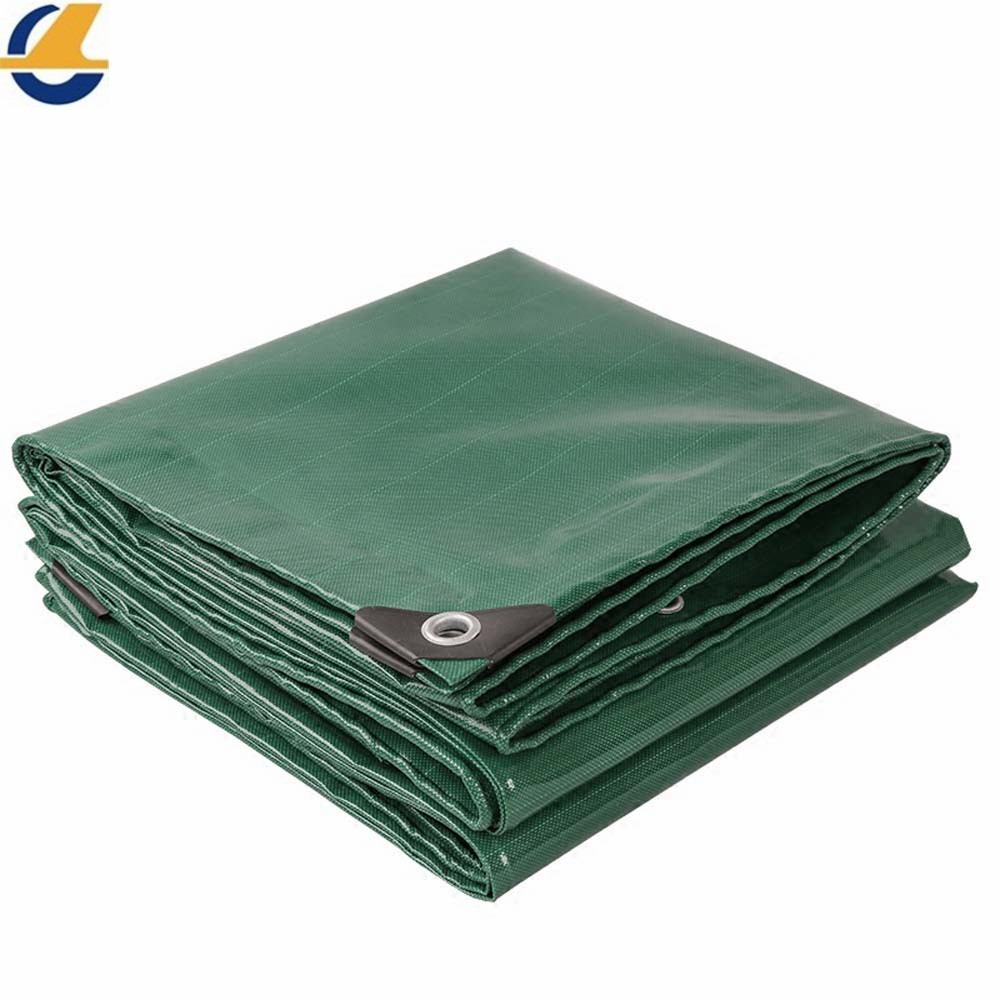Silicon tarps green color