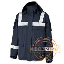Waterproof Reflective Parka with Dryvin Fabric