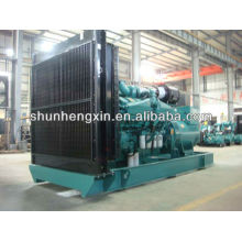 60Hz 1000KW / 1250KVA Generador Diesel Powered Powered by Cummins Engine (KTA50-G3)