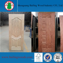 Different Wood Veneers HDF Moulded Door Skin