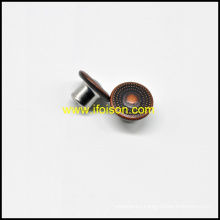 Metal Brass Jeans Button for Jeans F1060