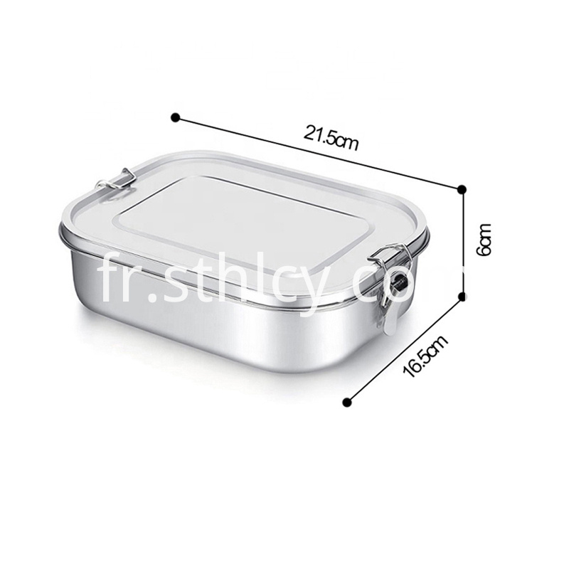 Food Storage Container Set With Divider