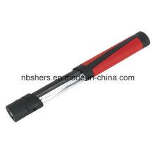 Extendable 8 SMD LED Work Light 1 LED Torch Magnetic Base