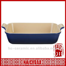 Ceramic microwave pan, roasting pan
