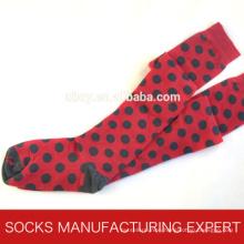 100% Cotton of Woman Coloful Tube Sock (UBM1045)
