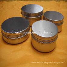 Beste Qualität Farbe Aluminium Kosmetik Gläser