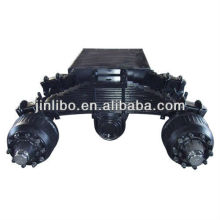 Trailer Axle  mechanical suspension and Air suspension with high quality and good price