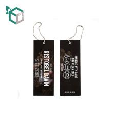 Fashion High Quality Paper Hang Tag For Garments
