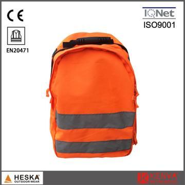 Mens mais barato por atacado segurança alta visibilidade trabalho bolsa mochila reflexivo