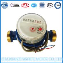 Lxsg-15-25 Single Jet Dry Dial Pulse Wasserzähler