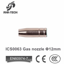 mig welding spares gas nozzle for 15ak torch