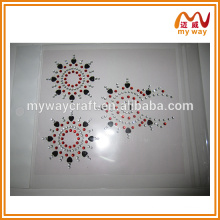 Exotic acrylic sticker is the set of hair tattoo sticker