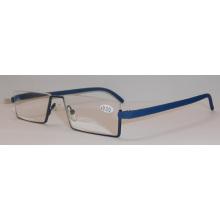 Модные металлические очки для чтения
