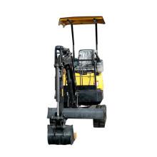 7 * 24 Nachverkauf 1,2 Tonnen billige Minibaggerausrüstung