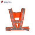 Haute qualité vente chaude nouvelle série clignotant conduit gilet de sécurité
