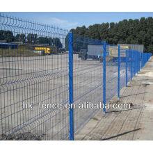 diámetro del alambre 3.5-5.5mm agujero 150x50mm panel de metal recubierto de PVC venta caliente