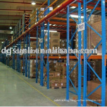 High Density Warehouse Storage Double Deep Pallet Rack