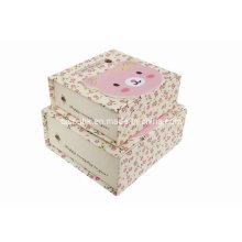 Бумажная коробка коробки упаковки, коробка подарка картона