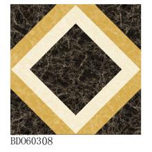 Fabrication de carreaux de tapis de sol à Zibo (BDJ60308)
