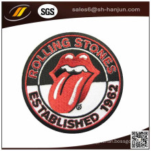 Wholesale Cheap Custom Polyester Embroidery Chenille Patch for Clothing