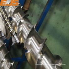 top Quality nitrided or bimetallic rubber extruding screws barrels