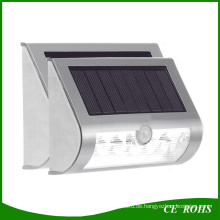 9 LED Solar LED Wand Montiert Wasserdicht Bewegungssensor und Dim Solar Licht Solar Outdoor Garten Treppen Tor Yard Pfad Lampe
