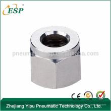 zhejiang qs nut penumatic metal fitting