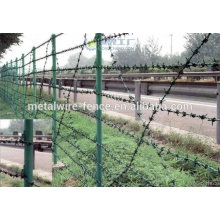Barbed Wire used as security fence