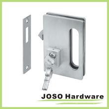 Стеклянные дверные аппаратные комплекты Раздвижные стеклянные дверные замки с ключом (GDL001A)