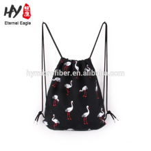 Eco-friendly star cotton backpack with great price