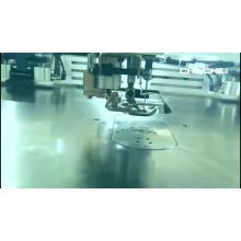 máquina de costura em zigue-zague com fivela traseira de sutiã automática