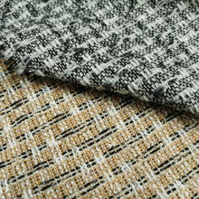 Boucle Fashion design with Lurex fabric