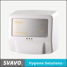 Wall Mounted Sensor High Speed Electric Quick Dry Jet Air Hand Dryer with Tray V-183