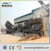 Abfallrecycling Mobile Impact Crusher Station (HM0938F1210)