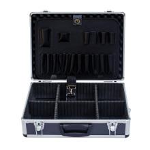 Caja de herramientas con panel de herramientas y hombro para juegos de herramientas
