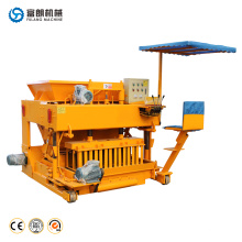 FL6-30 House plans portable small manual egg laying concrete cement brick block making machine