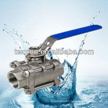 3PC stainless steel ball valve