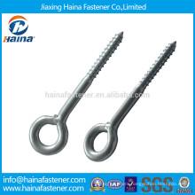 zinc plated lag eye screws