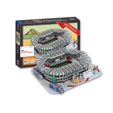 Горячая 246PCS Мексика ацтекский стадион игрушка 3D-игра-головоломка (10161652)