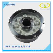 Горячие продаж 9 Вт IP67 вело свет фонтана нержавеющей стали тела светильника