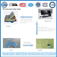Stepping Prepaid Wasser Durchflussmesser (LXSIC-20)