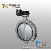 Stainless Steel 316L Double Flange Butterfly Valve