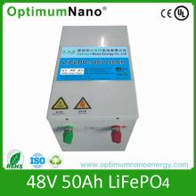 Batterie au lithium 48V 50ah LiFePO4 Batterie pour Yatch