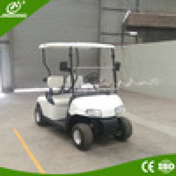 2 plazas mini carritos de golf eléctricos para la comunidad