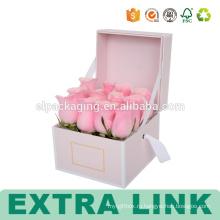 Оптовая Полное Печатание Упаковывая Бумажная Коробка С Окном Для Цветов